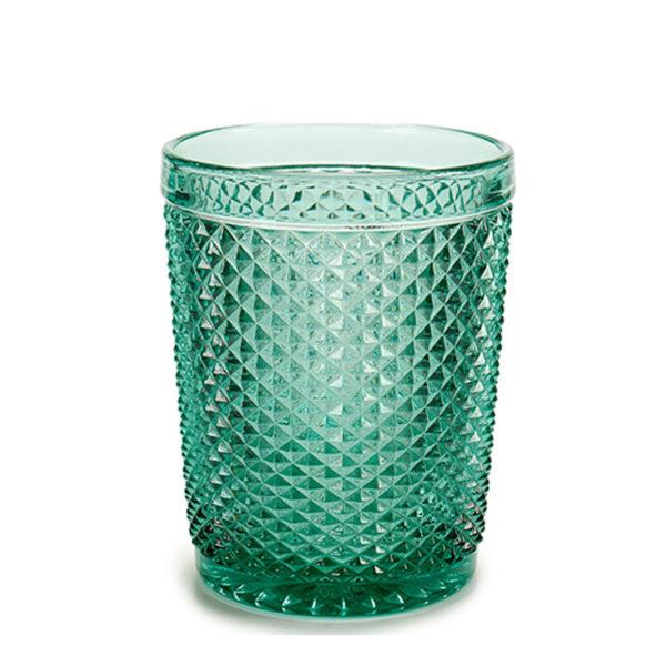alquier vaso agua marina