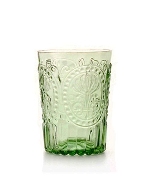 vaso cristal tallado